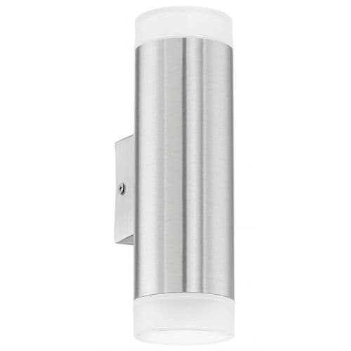 Eglo Outdoor 92736 Riga-led Outdoor Wall Light Stainless Steel
